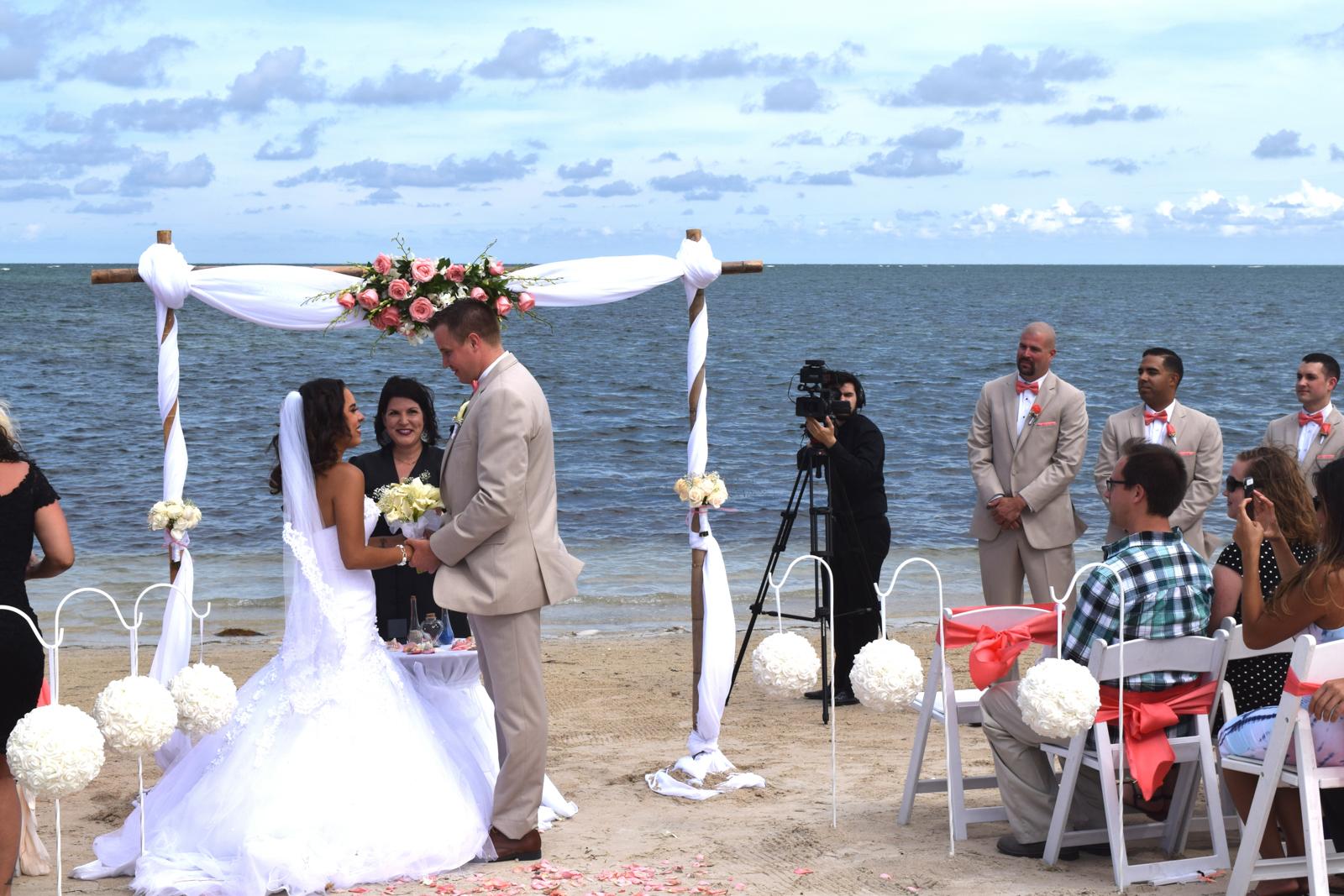 Jessica Daniel Beach Wedding Miami