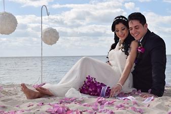 Ana & Jose Boda En La Playa Miami