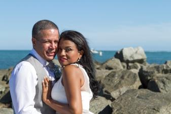 Francoise & Edgar Key Biscayne Beach Wedding