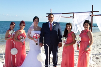 Isabel & Jose Key Biscayne Beach Wedding