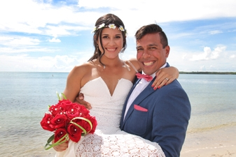 Marian & Carlos Key Biscayne Beach Wedding